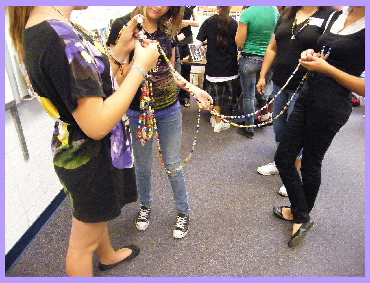 Cultural Arts Coalition S Bead Workshop At Orangewood